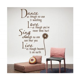 Coffee Wall Stickers Home Decor