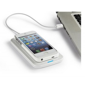 Qi Wireless Battery Backup Charging Receiver Case Protector for iPhone5/5S