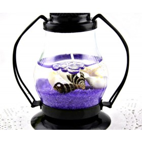 Fashion Vintage Chic Ocean Lantern Jelly Candle