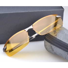 Driving Glasses Anti Glare Vision Drive Safety Yellow Sunglasses