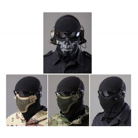Strike Steel Half Face Masks for Airsoft