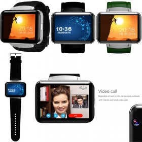 DM98 Large Screen WiFi Bluetooth Smart Watch 4GB 3G SIM GPS Camera For Android IOS