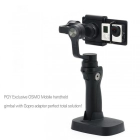 PGY Gopro Adapter Mount Accessories For DJI Osmo Gimbal Zhiyun Z1-Smooth 3 Axis