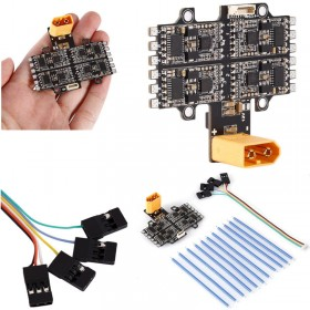 4 in 1 30A ESC Electronic Speed Controller 12V 5V BEC Output For FPV Quadcopter