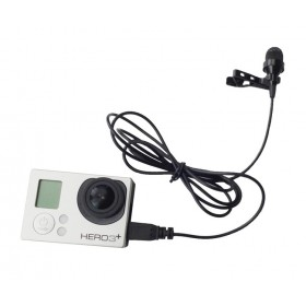 USB Stereo Microphone for GoPro Hero 3