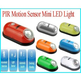 PIR Motion-Sensing Mini Auto ON/OFF LED Light