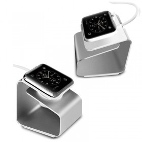 Fashion Metal Aluminium Charger Charging Dock Stand for Apple Watch 38mm 42mm