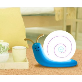 Creative Snail Lamp LED Night Light USB Rechargeable LED Lamp
