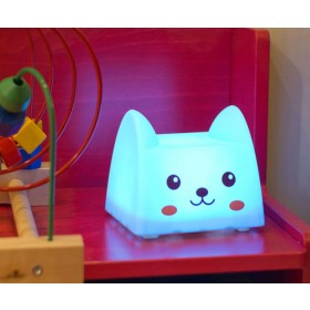 LED Cartoon Press Lamp USB Rechargeable Nigh Lamp