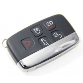 Keyless Entry Smart Remote Key Shell Case Fob 5 Button for JAGUAR XJ XJL XF