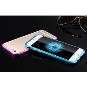 Luxury Aluminum Ultra-thin Metal Bumper Case Cover for iPhone 6 4.7 Plus 5.5