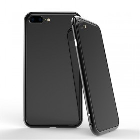 BOBYT Jet Black Aluminum Metal Bumper Frame Slim Case Cover For iPhone 7