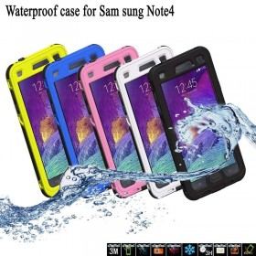 Samsung Galaxy Note 4 N9100 Waterproof Shockproof Phone Cover Case