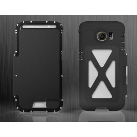 Armor Luxury Metal Shockproof Aluminum Case Cover For Samsung Galaxy S6 edge