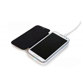 PU leather  receiver for Samsung Galaxy
