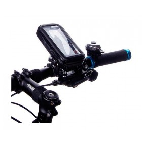 Bike Waterproof Motorcycle Zipper Handlebar Mount Case For iPhone 5 4 4S 3GS
