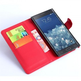 Samsung Galaxy Note Edge Wallet Leathe