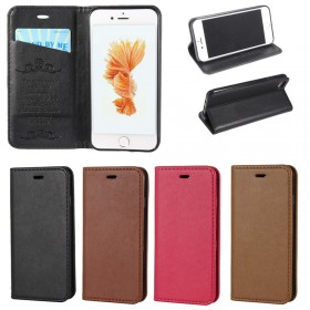 Luxury Magnetic Slim Flip Leather Wallet Stand Case Cover For iPhone 7 7 Plus