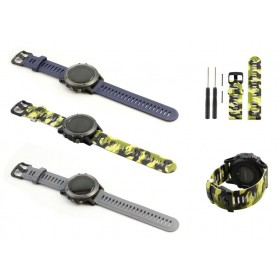 Watch Band Strap for Garmin Fenix 3 GPS Sport Watch With Tools