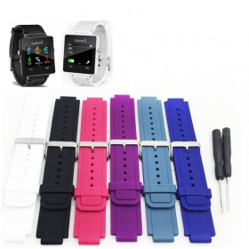 Silicone Wrist Watch Band Strap For Garmin Vivoactive Watch With Tools