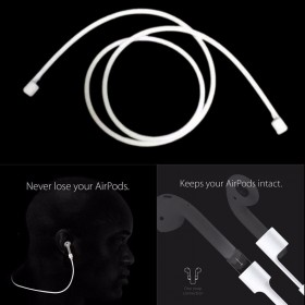 Anti-lost Earbuds Keeper Cable Cord Strap Loop For Apple AirPods iPhone 7 Plus