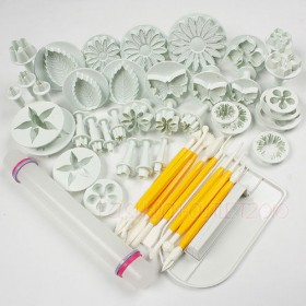 Sugarcraft Cake Decorating Fondant Cutters Tools Mold