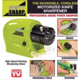 Electric Knife Sharpener kitchen Knives Blades Drivers Swifty Sharp Tools