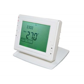 LCD Display Celsius or Fahrenheit scale Residential RF Thermostat