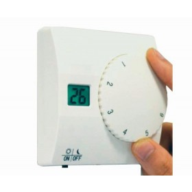 Wireless LCD Display Digital Heating and Cooling Thermostats