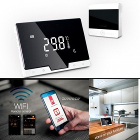Digital Remote Wi-Fi Access 7-Day Universal Programmable Touch Smart Thermostat