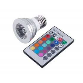 IR remote controller LED 16 Colors Party Magic Flash Light