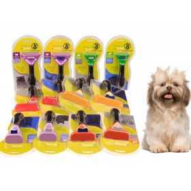 Short/Long Hair Deshedding Tool Brush for Giant Large Medium Small Dogs/Cats