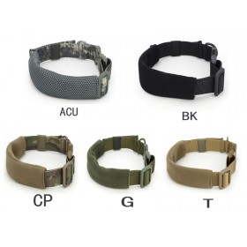 Nylon Collar K9 Tactical Dog Military Training Police Working Dog Traction Rope