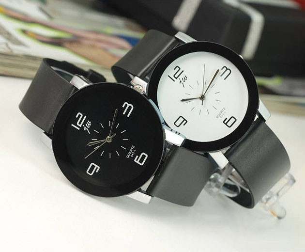Fashion Couple Quartz Wrist Watches