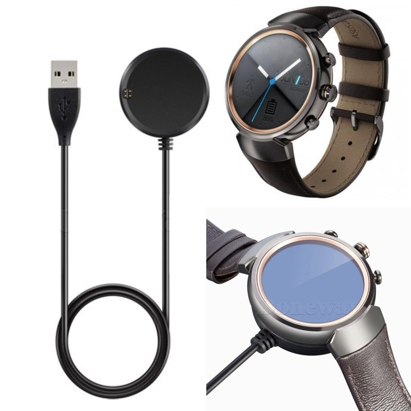 USB Data & Charging Cable Cradle Charger Dock for ASUS ZenWatch 3