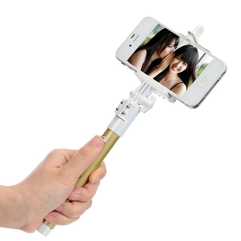 rechargeable bluetooth remote monopod tripod selfie stick for iphone 6 6 plus. Black Bedroom Furniture Sets. Home Design Ideas