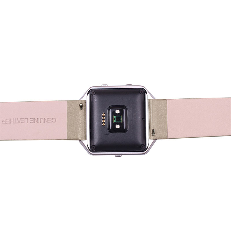 Genuine Leather Watch Band Strap For Fitbit Blaze Quick