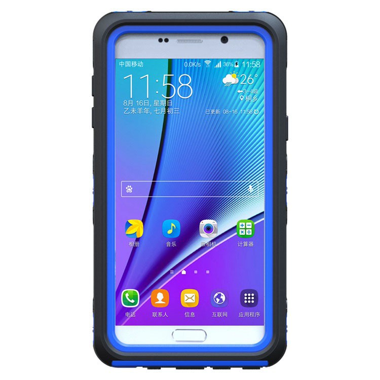 ... Waterproof Dirt Proof Snow proof Case Cover for Samsung Galaxy Note 5