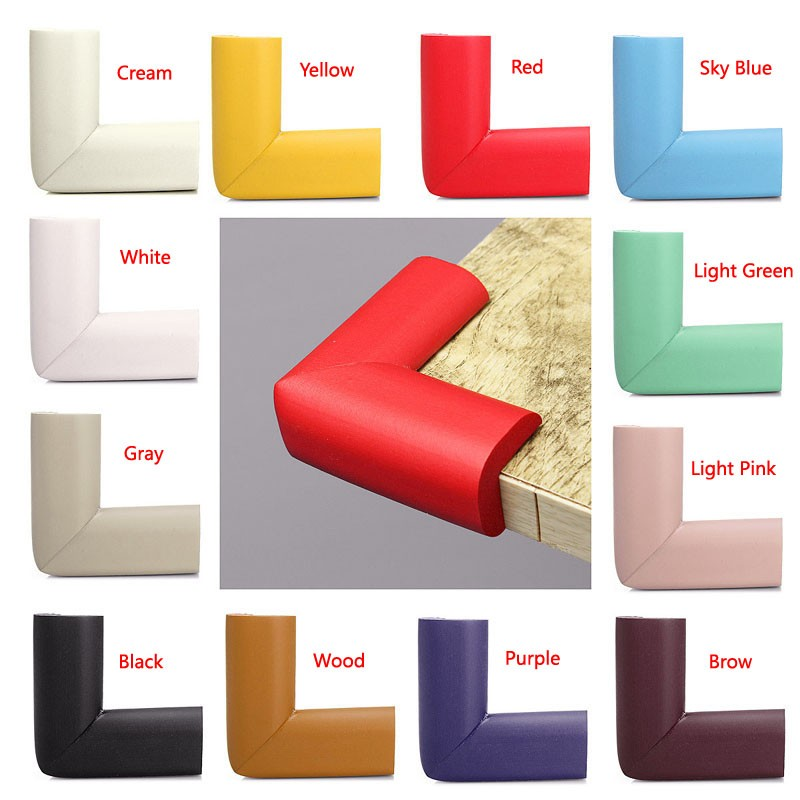 Baby Safety Rubber Foam Furniture Corners Protector Guards
