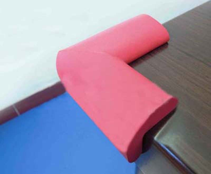 Rubber Foam Furniture Corners protector for Safety Guards