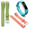 Luxury Replacement Silicone Watch Band Strap Classic Buckle For Fitbit Alta