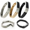 Luxury Metal Stainless Steel Bracelet Watch Band Strap For Fitbit Alta Wristband