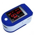 Easy Operation LED Screen Display Pulse Rate, SPO2 and Bar Graph All-in-One Fingertip Pulse-Oximeter