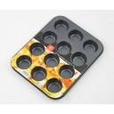 Nonstick Coating Bakeware 12-Cup Muffin Cup