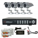 KARE Outdoor Home Day Light 50ft IR CCTV Video Security Surveillance Camera System 500G Hard Drive