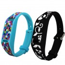 3D Printed Watch Band Strap with Metal Buckle for Fitbit Flex Wireless Wristband