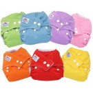 3pcs Adjustable Reusable Baby Cloth Diaper Nappy