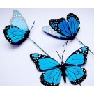 Colorful 3D Artificial Butterflies