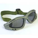 Tactical Equipment Paintball Metal Wire Mesh Airsoft Safety Goggle