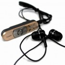 golden clip bluetooth headset